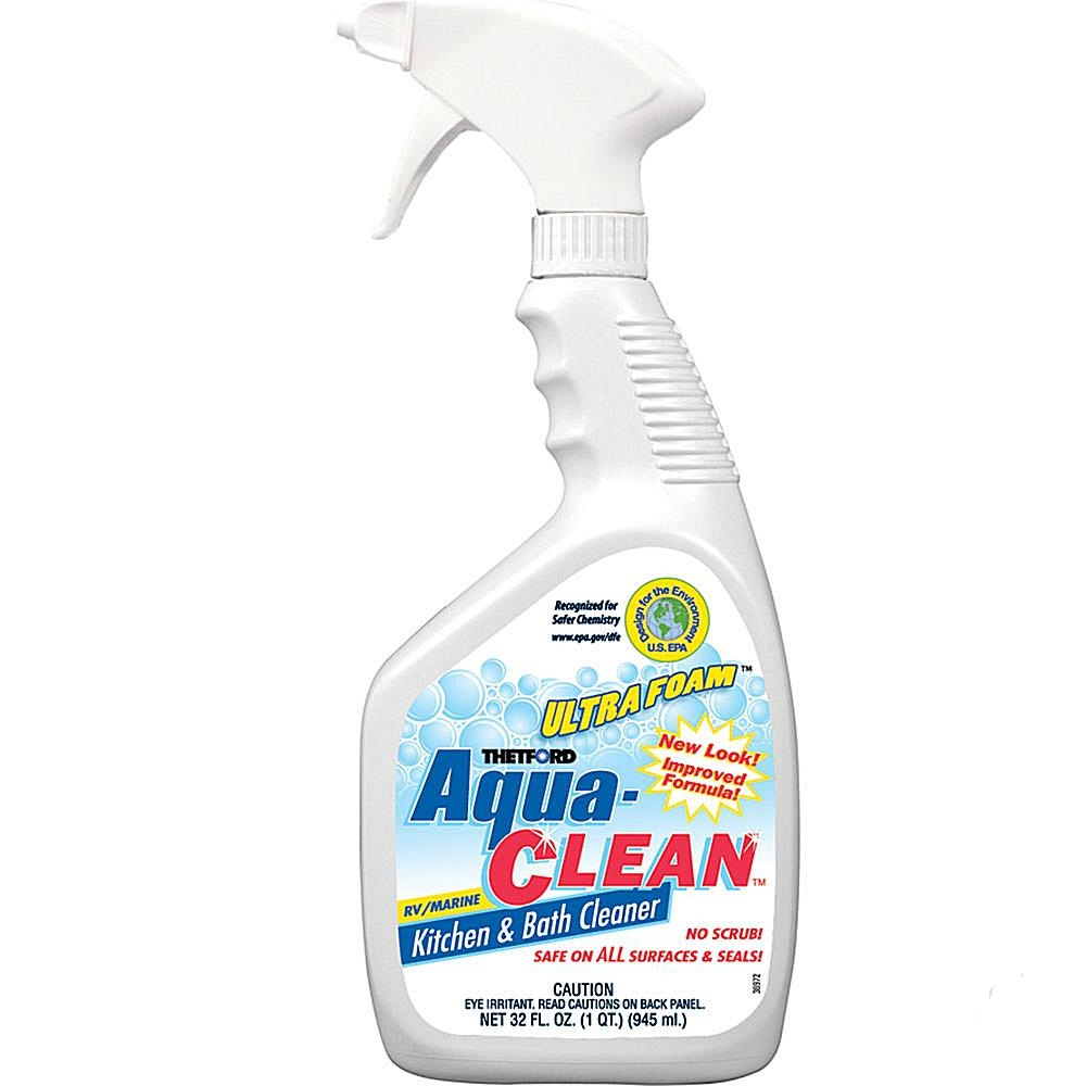 thetford 36971 thetford aqua clean 32oz kitchen bath cleaner 36971 rv plus. Black Bedroom Furniture Sets. Home Design Ideas