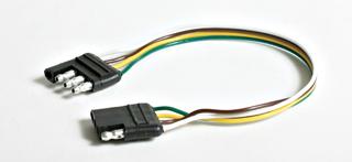 "Camco RV Trailer Harness, 4-Way Wishbone, Male End, 36"" 64843 at Sears.com"