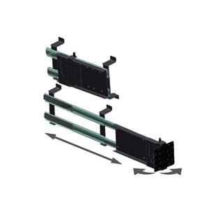 Mor ryde tv40 002h mor ryde tv mount horizontal - Vertical sliding tv wall mount ...