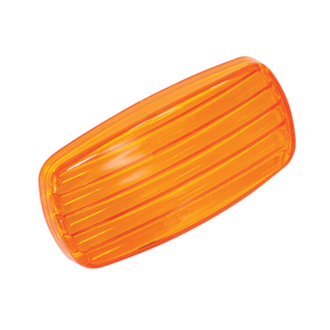 BARGMAN COMP 34-58-012 - Bargman Clearance Light #58 Lens Only - Amber 34-58-012